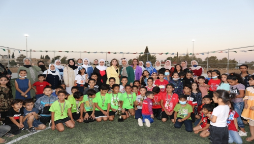 إفتتاح ملعب وحديقة اطفال في كلية الملك حسين الجوية