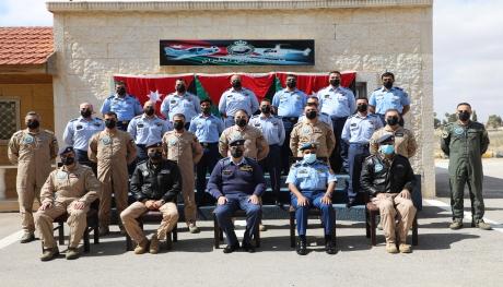 تخريج دورة مدربين الطيران رقم 41 في كلية الملك حسين الجوية