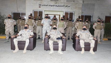 تخريج دورة الطيران التعبوي المتقدم 10 في قاعدة الملك عبدالله الثاني الجوية