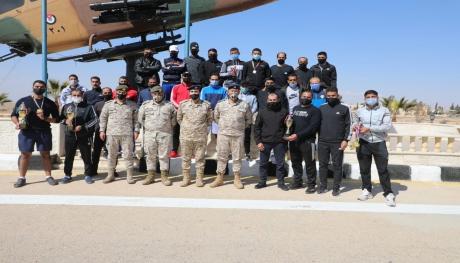 فريق مديرية الإدارة والقوى البشرية يفوز ببطولة سلاح الجو الملكي لبطولة الضاحية.
