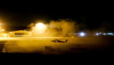 مندوباً عن جلالة الملك ولي العهد يرعى تخريج دورتين للطيران التعبوي ويتابع تمريناً عسكرياً ليلياً في قاعدة الملك عبدالله الثاني الجوية