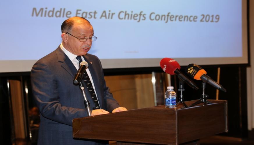 سمو الأمير فيصل بن الحسين يرعى مؤتمر قادة الأسلحة الجوية لدول الشرق الأوسط 2019