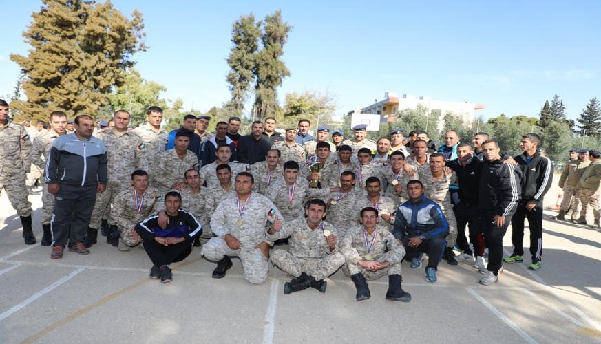 الدفاع الجوي يحصد المركز الاول في بطولة شد الحبل