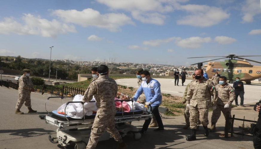 بتوجيهات ملكية إرسال طائرة إخلاء طبي لنقل مواطن تعرض لحادث سير بالسعودية