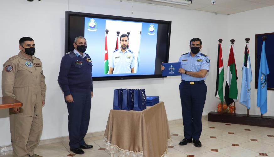 تخريج دورة مدربي الطيران رقم ٤١ في كلية الملك حسين الجوية