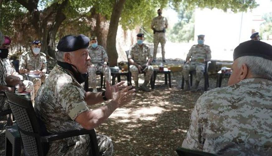 الملك يعرب عن ثقته بأن الأردن سيخرج أقوى من أزمة كورونا مما دخلناها