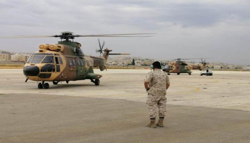 جلالة القائد الأعلى يوجه بالمساعدة لاخماد الحرائق في لبنان