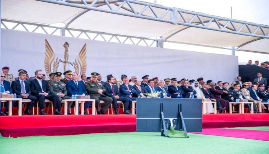 القائد الأعلى يفتتح معرض سوفكس 2018