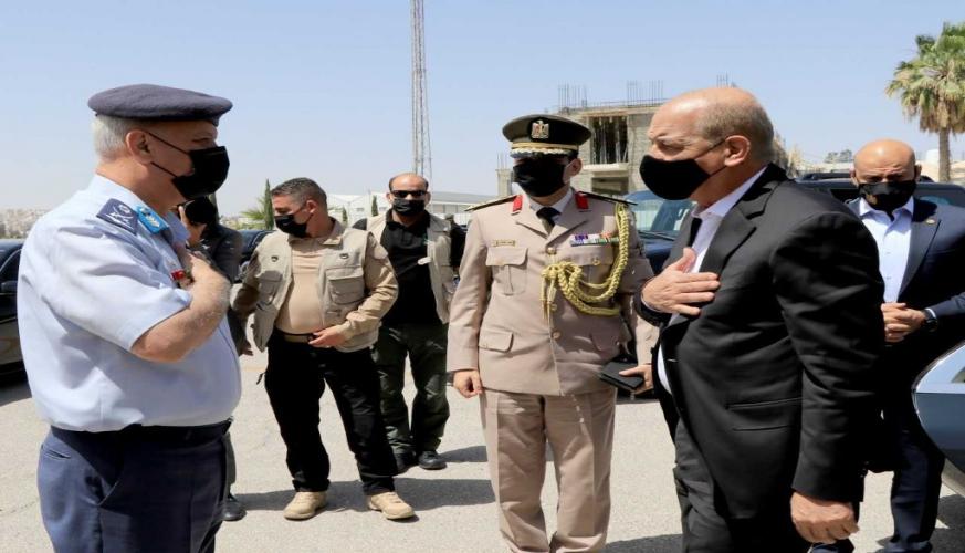 رئيس هيئة الأركان العامة للقوات المسلحة السعودية والقائد العام للقوات المسلحة المصرية يغادران أرض المملكة
