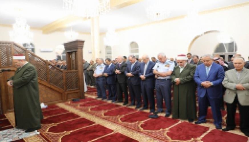 سمو الأمير فيصل بن الحسين يحضر مأدبة إفطار في قيادة سلاح الجو الملكي