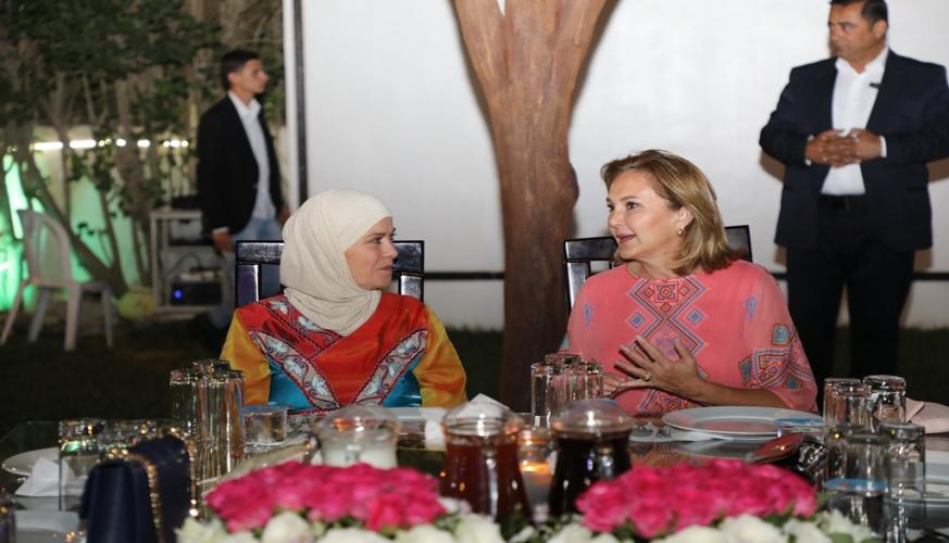 نادي سيدات سلاح الجو الملكي يقيم سهرة رمضانية خيرية
