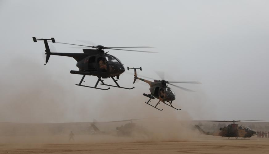 سلاح الجو الملكي ينفذ تمريناً عسكرياً تعبوياً