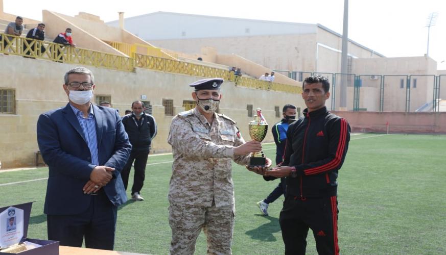 فريق قاعدة الشهيد الطيار موفق السلطي الجوية يفوز ببطولة سلاح الجو الملكي لكرة القدم