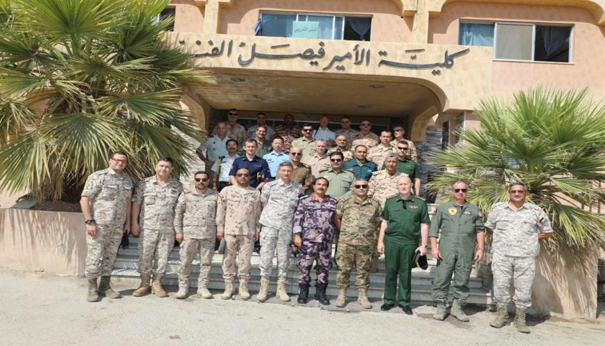سلاح الجو الملكي يستضيف الملحقين العسكريين في المملكة