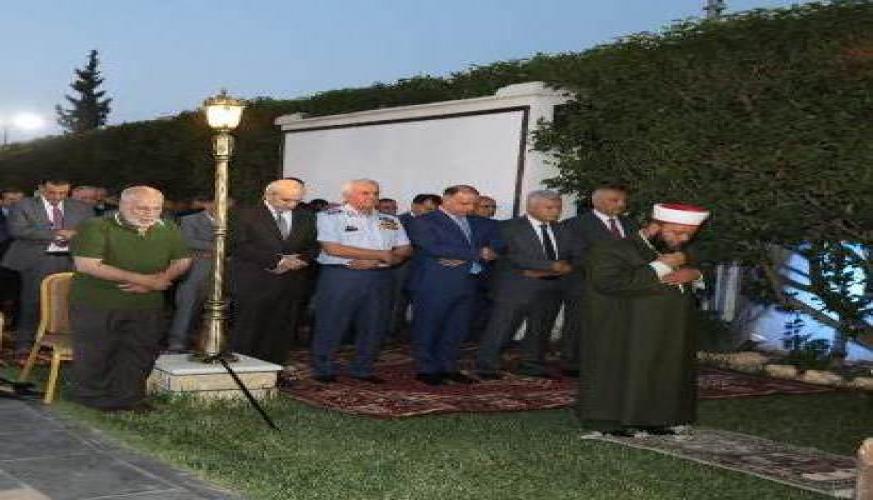 سمو الأمير فيصل بن الحسين يحضر مأدبة افطار أقامتها قيادة سلاح الجو الملكي