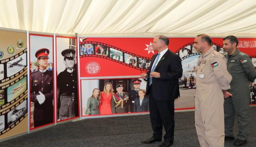 الأمير فيصل يزور المعرض الجوي (ايرتاتو) البريطاني