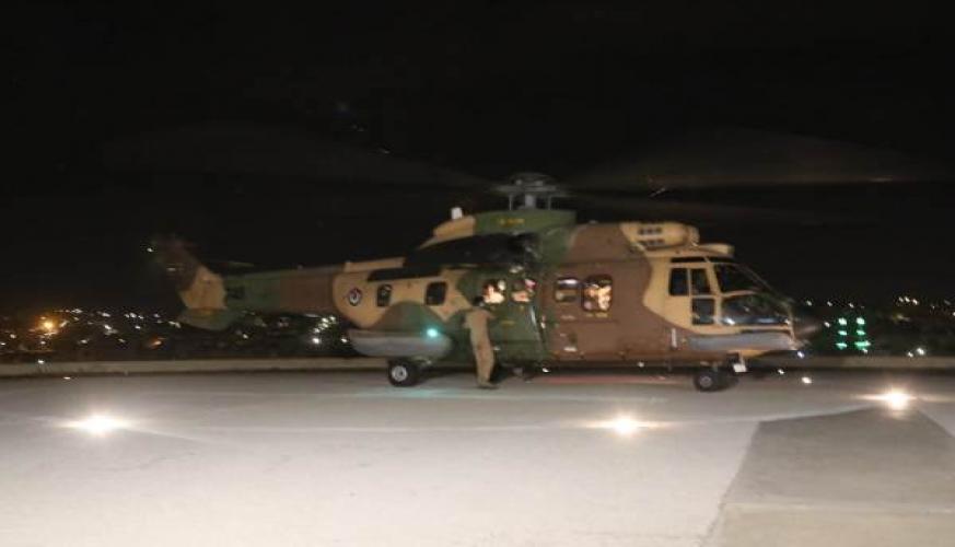 القوات المسلحة الأردنية تخلي أحد مرتبات الأمن العام