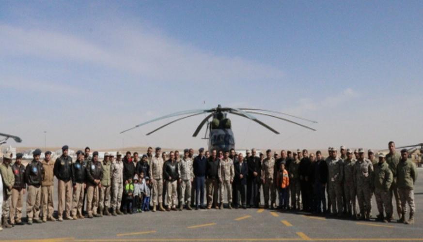 قيادة سلاح الجوالملكي تحتفل بيوم الوفاء للمتقاعدين العسكريين والمحاربين القدامى
