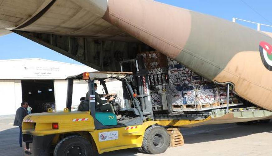 الهيئة الخيرية الأردنية الهاشمية تبدأ بإرسال مساعدات إنسانية إلى لبنان